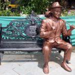 Raj Kapoor's Brass Statue