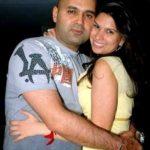 Laila Mallya with Samar Singh