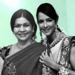 Lakshmi Manchu with her step-mother