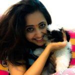 Lasya Manjunath dog lover