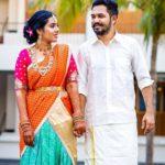 Latchaya with her husband Adhi