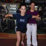 Leena Mogre with Kangana Ranaut
