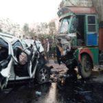 Lokendra Singh BJP Road Accident
