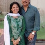 Lubna Salim with her husband