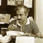 M J Akbar At The Telegraph Office