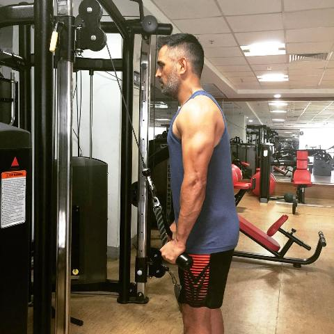 MS Dhoni Workout And Diet