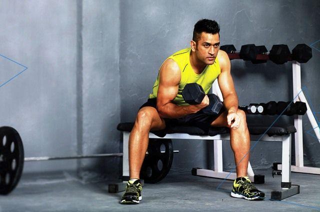 MS Dhoni Workout