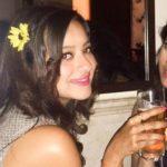 Madalsa Sharma drinking alcohol