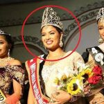 Madhu Valli with Miss India worldwide title