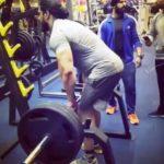 Mahabali Shera at Gym