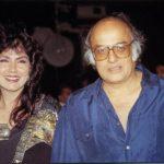 Mahesh Bhatt with his ex-wife Kiran Bhatt aka Loraine Bright
