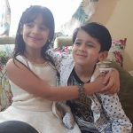 Mahira Khurana with brother