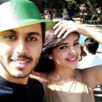 Malvika Sharma with her brother Vedant Sharma