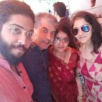Manan Joshi with his family