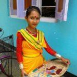 Manashi Sahariah at her residence