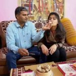 Manu Bhaker With Her Father