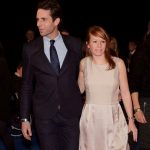 Mark Beaumont With His Wife