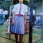 Mary Kom during her school days
