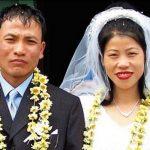 Mary Kom marriage
