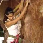 Mashoom Singha avid rock climber