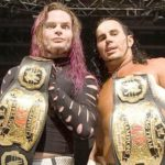 Matt Hardy And Jeff Hardy Won Their First Tag Team Title