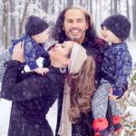 Matt Hardy With His Wife And Children
