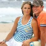 Matt Henjak and Candice Warner