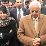 Mehbooba Mufti With Her Father
