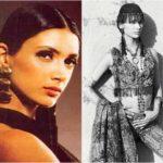 Mehr Jesia in her modelling days