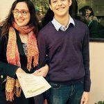 Mehr Tarar with her son