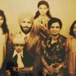 Nirmal Kaur With Her Suami, Three Daughters and A Son