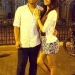 Minal Mogam with her brother Nitin Mogam