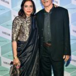 Mira Nair With Her Husband