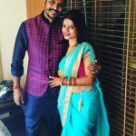 Mitali Nag with Husband