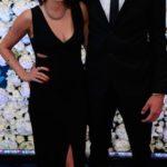 Mitchell Santner's Girlfriend Caitlin Podunski (During 2016 New Zealand Cricket Awards)