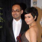 Antara Mali with husband