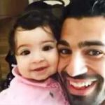 Mohamed Salah with His Daughter