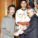 Mohammad Ali Baig received Padma Shri award