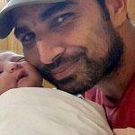 Hasin Jahan husband Mohammed Shami with their daughter Airah Shami