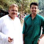 Mohit Dagga with his father Jinendra Dagga