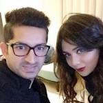 Shweta Jaiswal with Mohit Sharma