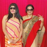 Moushumi Chatterjee with daughter Megha Chatterjee