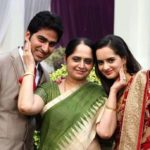 Mriganka Singh In her Daughter Wedding