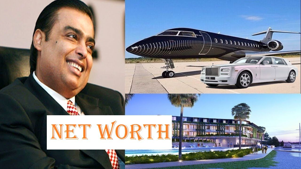 Mukesh Ambani Net Worth