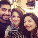 Munisha Katwani with family