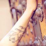Muskan Sethi's tattoo