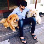 Naga Shaurya loves dogs
