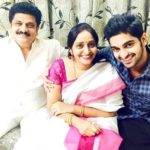 Naga Shaurya with his parents