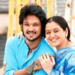Nakul with his sister Devayani