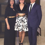 Namrata Purohit parents